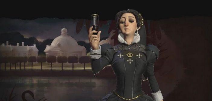 Catherine de Médicis dirige la France dans Civilization VI