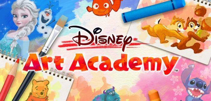 [Test] Disney Art Academy : dessiner, c'est (presque) gagner !