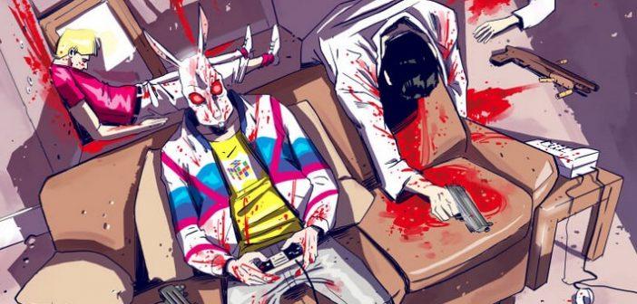 """Le comics Hotline Miami : Wildlife - """"Aimez-vous blesser d'autre personnes ?"""""""