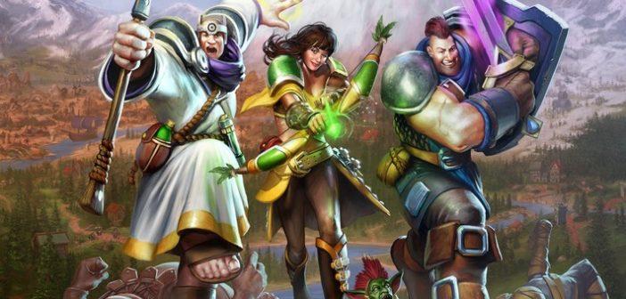 Les cinq héros de Champions of Anteria sont de sortie !