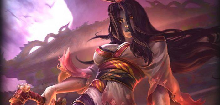 SMITE accueille Izanami, la déesse de la mort.
