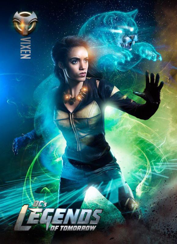 Legends of Tomorrow : la nouvelle Vixen se dévoile