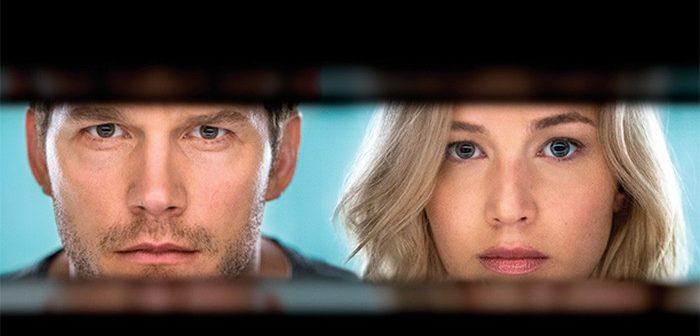 Passengers : premières photos de Jennifer Lawrence et Chris Pratt !