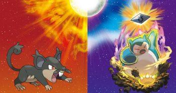 Pokémon Soleil / Lune : forme Alola, distribution et attaque Z unique