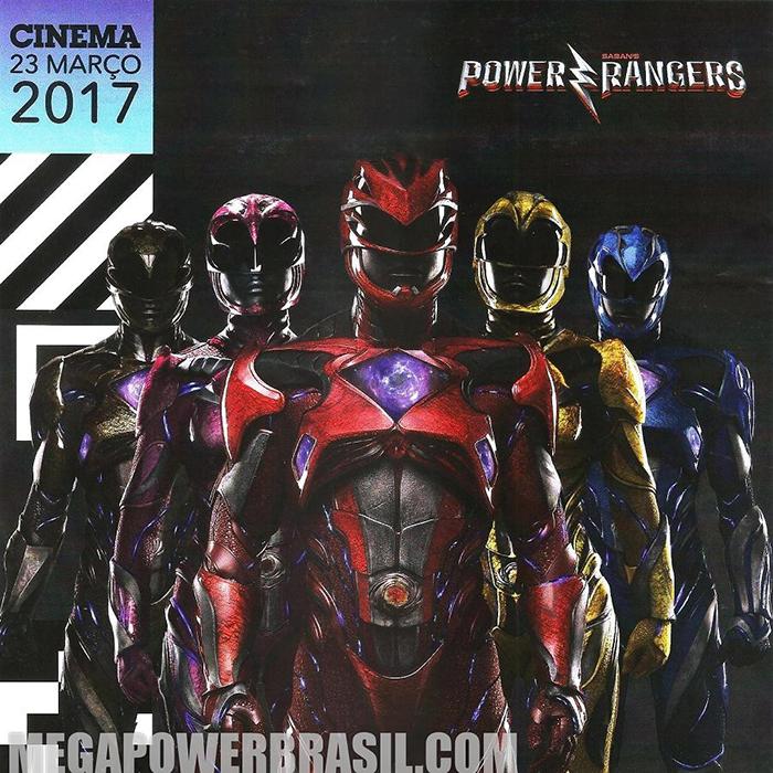 Les nouveaux Power Rangers s'affichent en costume !2