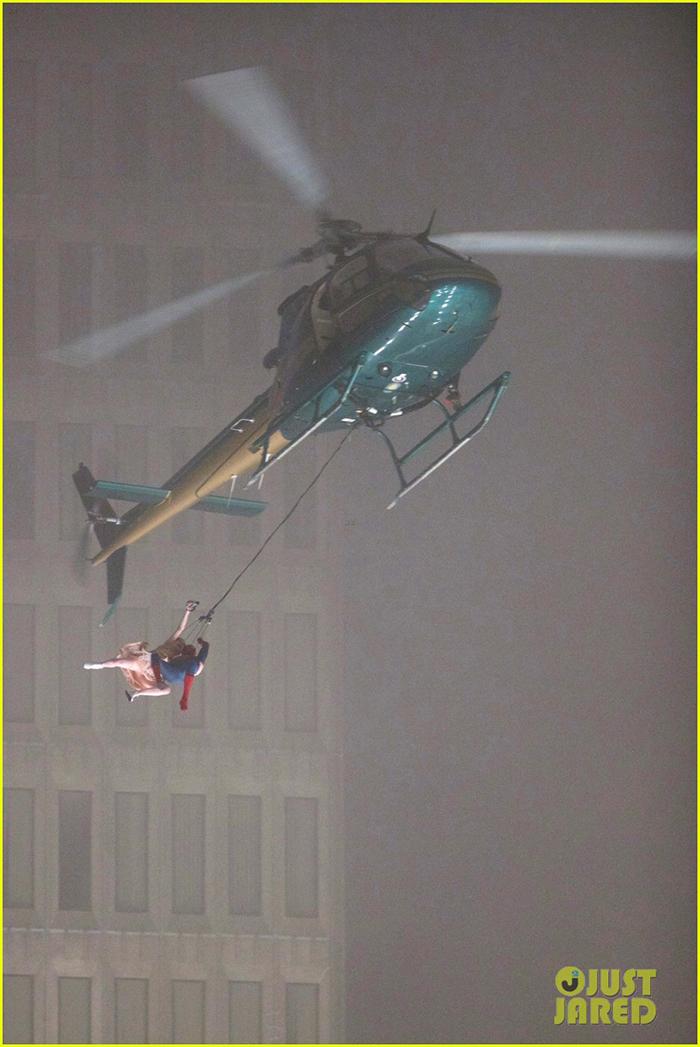 Spider-Man : Homecoming – des images d'acrobaties… en hélicoptère !