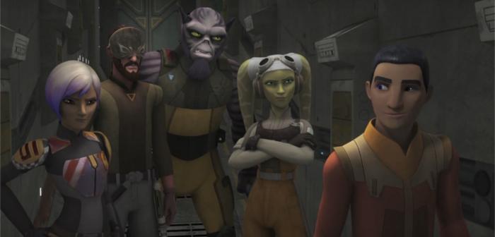 [Critique] Star Wars Rebels S03E01 : quand le bien et le mal ne font qu'un ?
