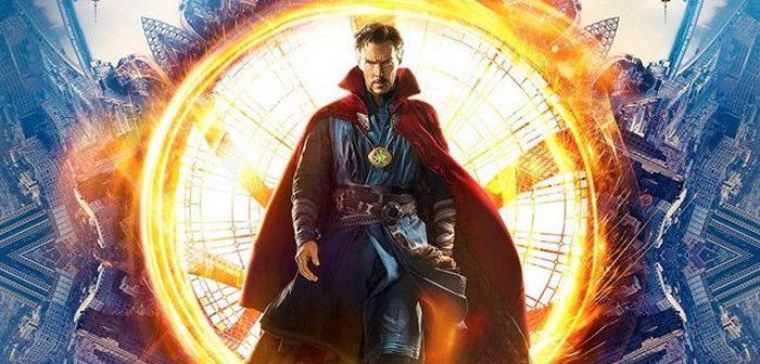 Doctor Strange prend la pose dans son Sanctum Sanctorum