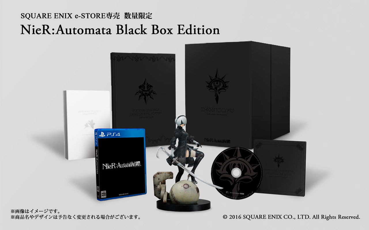nier automata black box edition collector ps4