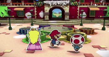 Paper Mario : Color Splash présente l'île barbouille en vidéo !