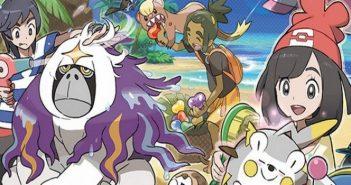 Pokémon Lune / Soleil : voici les Pokémon exclusifs à chaque version !