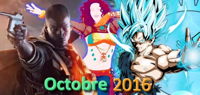 Jeux vidéo : quoi de beau pour octobre 2016 ?