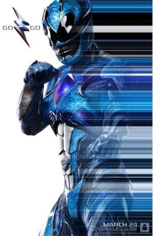 Power Rangers : 5 nouveaux posters révélés pour le Comic Con
