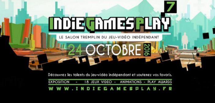 Petit bilan des Indie Games Play 2016 !
