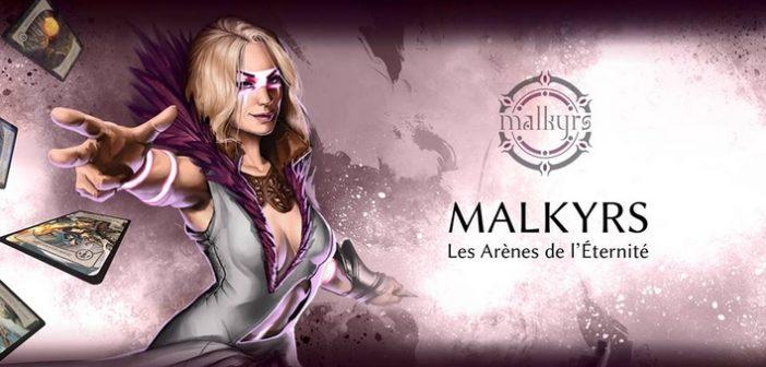 [Preview] Malkyrs Arena of Eternity, jeu de cartes connectées