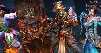 SMITE : 7 dieux et leurs skins à gagner !