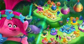 Trolls: Crazy Party Forest : du film au jeu mobile !