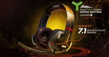 [Concours] Un casque Thrustmaster Y-350X 7.1 Powered – DOOM Edition à gagner !