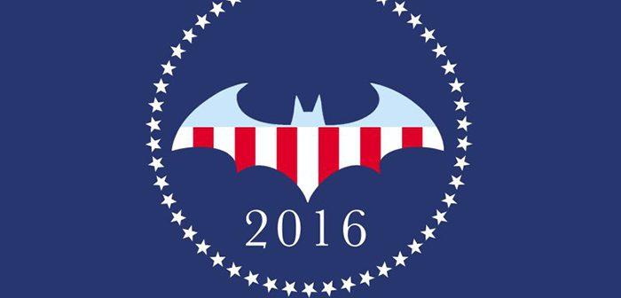 Batman arrive en tête des panachages de l'élection américaine 2016 !