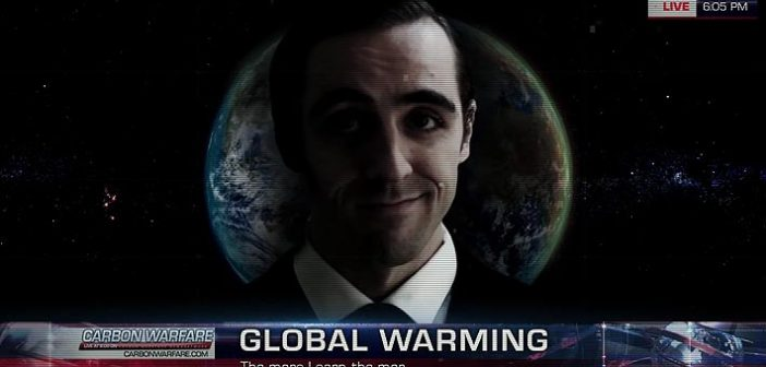 Le studio Virtuos nous sert leur titre Carbon Warfare. Un jeu écolo dont le but est de sensibiliser aux danger du réchauffement climatique.