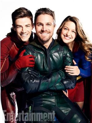 Le crossover Arrow/The Flash/Legends of Tomorrow se dévoile avec des images officielles