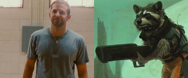Bradley Cooper dans Guardians of the Galaxy