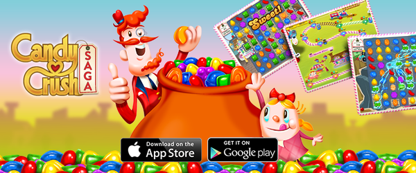 Activision Candy Crush Saga plus addictif que les sucreries