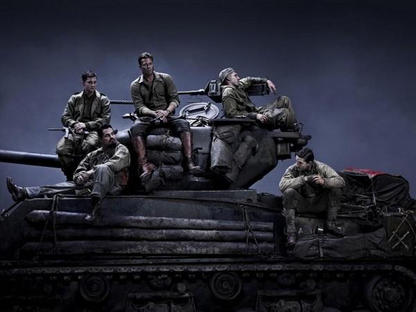Première image de Fury avec Brad Pitt