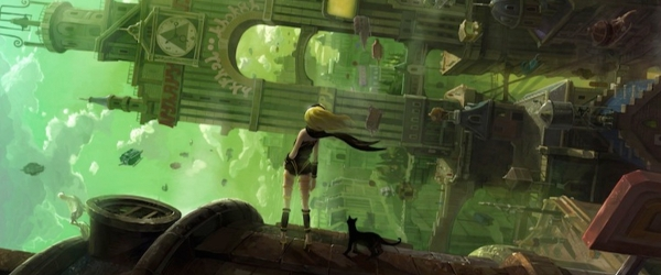 Gravity Rush : à l'envers, à l'endroit