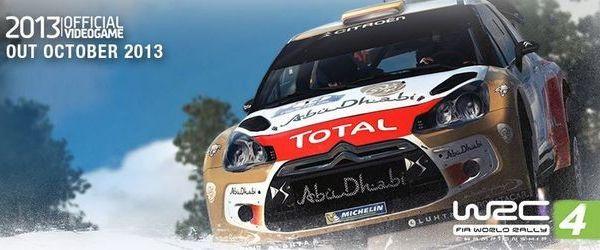 WRC 4 une demo pour le 16 Octobre !