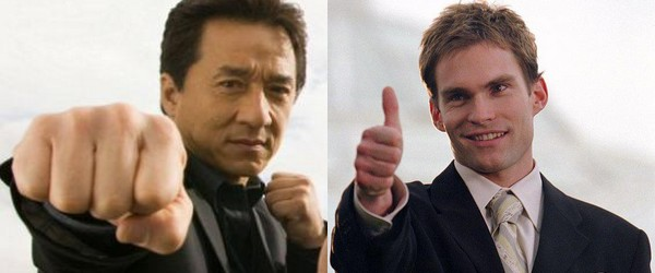 Jackie Chan et Sean William Scott réunis