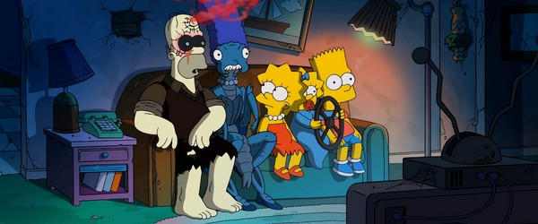 Les Simpson version Guillermo Del Toro