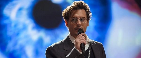 Première image de Johnny Depp dans Transcendence