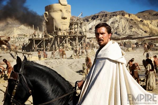"Exodus : Christian ""Moïse"" Bale en image"