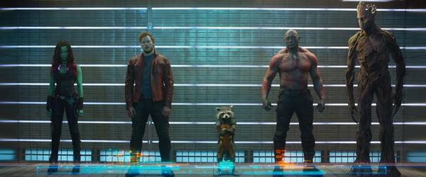 Première photo officielle des Gardiens de la Galaxie