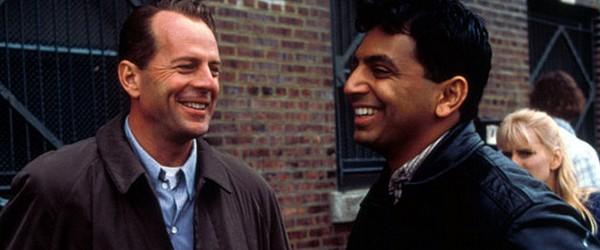 M. Night Shyamalan, Bruce Willis : troisième !