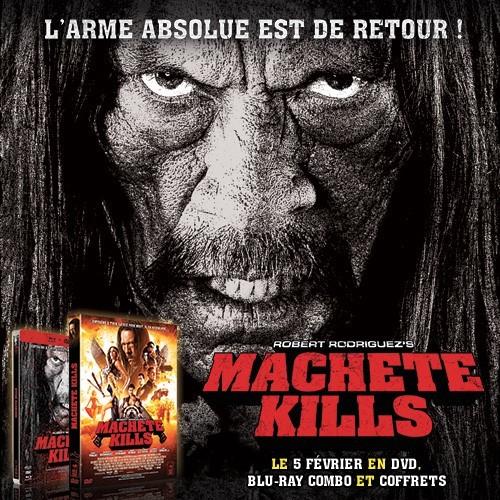 [Concours] Gagnez trois DVDs Machete Kills !