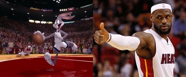 LeBron James, star de Space Jam 2