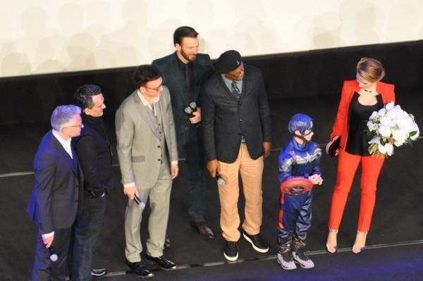 Avant-première Captain America