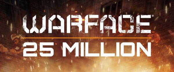 Warface rassemble 25 millions de joueurs