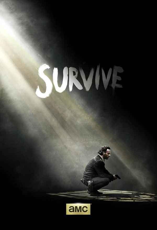 The Walking Dead : affiche teaser de la saison 5