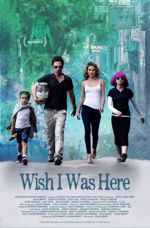 Zach Braff revient avec Wish I Was here