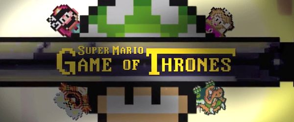 Super Mario World Game Of Thrones_UNE