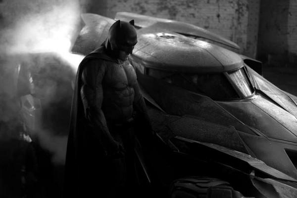 Première photo de Ben Affleck en Batman