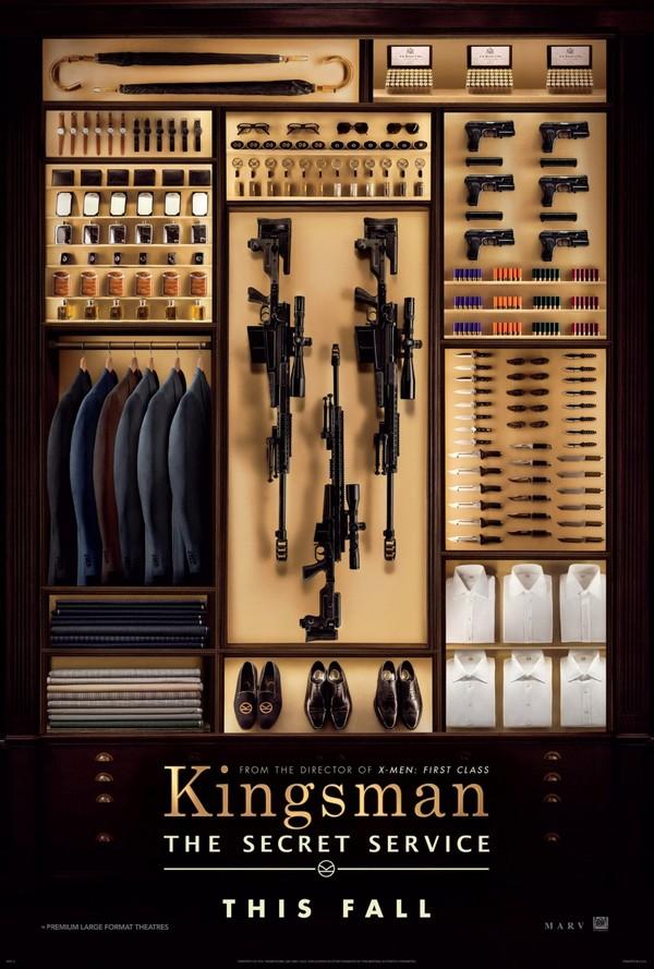 Affiche et bande-annonce pour Kingsman