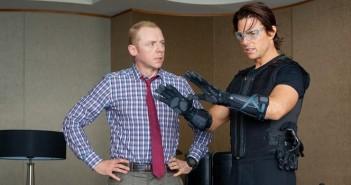 Simon Pegg Tom Cruise