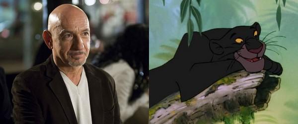 Ben Kingsley va jouer Bagheera dans Le Livre de la Jungle