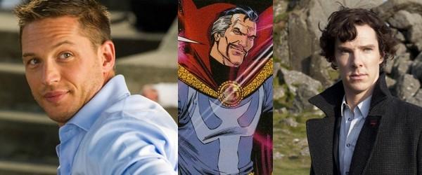 Tom Hardy ou Benedict Cumberbatch en Dr Strange ?