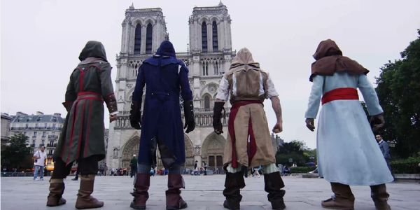 Assassin's Creed, en vrai, à Paris