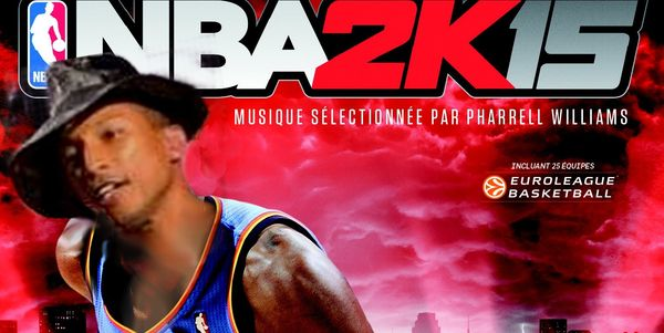 Du Pharrell Williams dans NBA 2K15_1 - C1opie